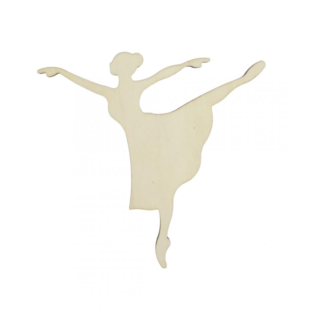 Ballerina Degas in legno