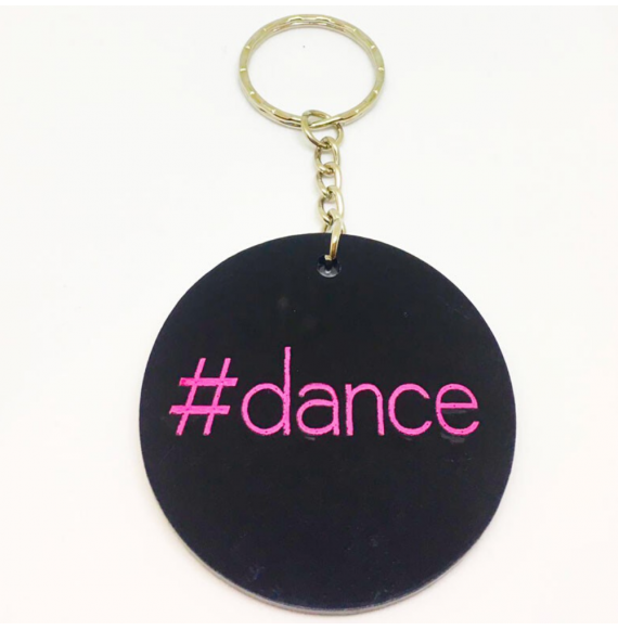 Portachiavi hashtag Dance