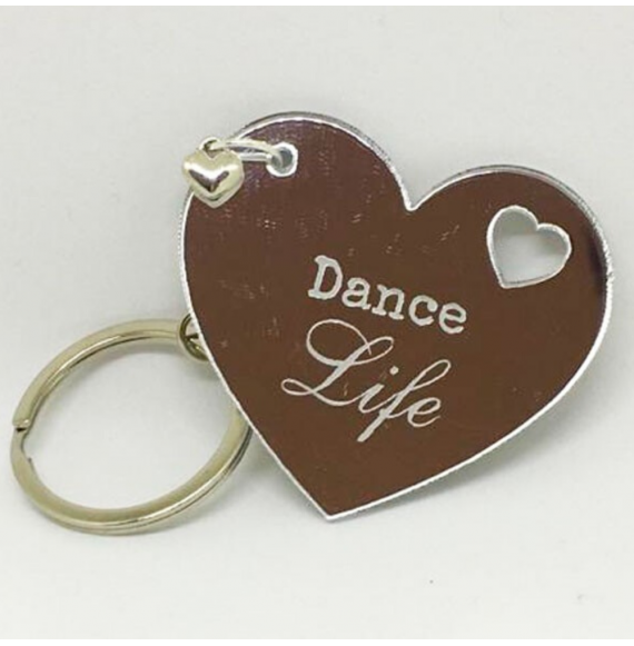 Portachiavi cuore Dance Life